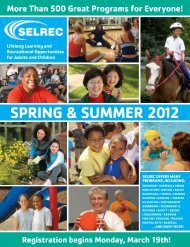 SPRING & SUMMER 2012 - the YMCA of Greater Cleveland