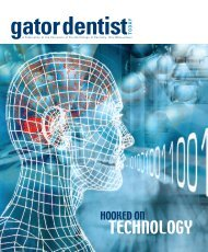 TECHNOLOGY - College of Dentistry - University of Florida