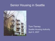 Senior Housing in Seattle - Aging and Disability Services