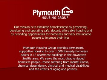 Plymouth Housing - Aging and Disability Services