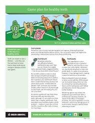 Game plan for healthy teeth - Delta Dental Insurance