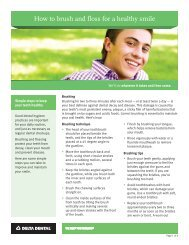 How to brush and floss for a healthy smile - Delta Dental Insurance