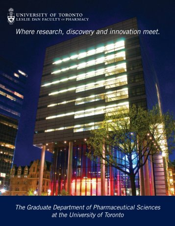 Where research, discovery and innovation meet. - Leslie Dan ...