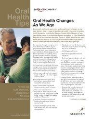Oral Health Tips - Securian Dental