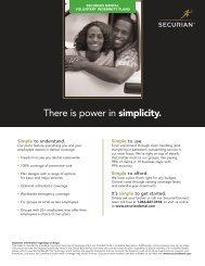 SEC.062.06_Voluntary_Indemnity Flyer Sheet.qxp - Securian Dental