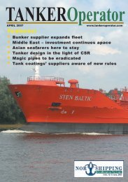 Features: - Tanker Operator