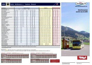 4262 Zwischensaison von 8.4. bis 6.5.2013 - Tannheimer Tal