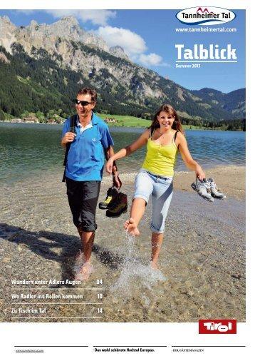 Talblick - Tannheimer Tal