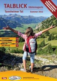 Talblick Sommer 2012 - Tannheimer Tal