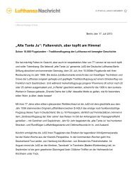 """Alte Tante Ju"": Faltenreich, aber topfit am Himmel - Tannkosh"