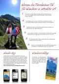 Ausgezeichnet Wandern im Tannheimer Tal - Seite 4