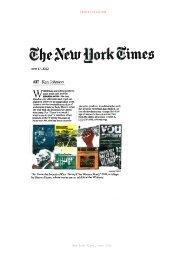download selected press (pdf) - SHARON HAYES
