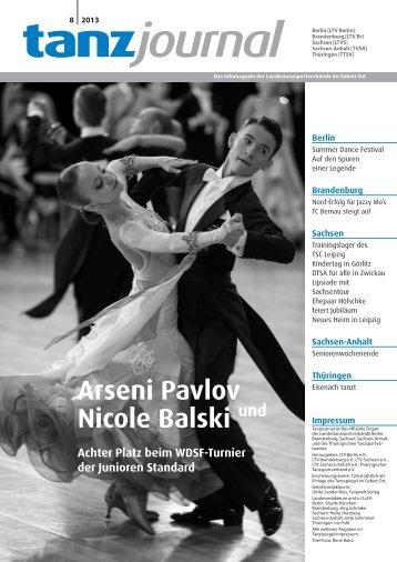 Tanzjournal - Deutscher Tanzsportverband eV