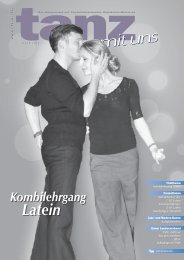 Kombilehrgang Latein - Deutscher Tanzsportverband eV