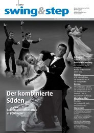 Swing & Step - Deutscher Tanzsportverband eV