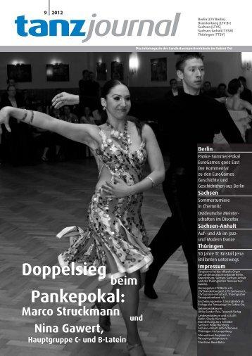 Doppelsieg Pankepokal: - Deutscher Tanzsportverband eV