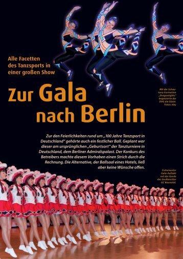 Tanzgala Berlin - Deutscher Tanzsportverband eV