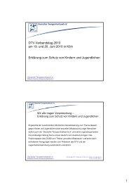 Erklärung zum Schutz von Kindern und Jugendlichen - Deutscher ...
