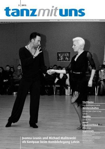 Tanz mit uns - Deutscher Tanzsportverband eV