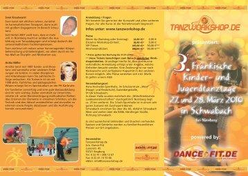 präsentiert: powered by: - Tanzworkshop.de