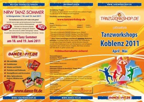 nrW Tanz-Sommer am 18. und 19. Juni 2011 - Tanzworkshop.de