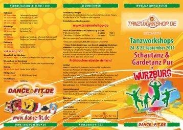 gardetanz pur - Tanzworkshop.de