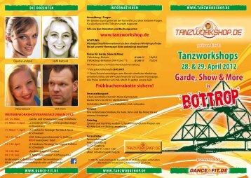 GarDE, shOw & mOrE GarDE, shOw & mOrE - Tanzworkshop.de