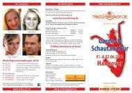 Flyer Workshops in Hannover 2013 - Tanzworkshop.de