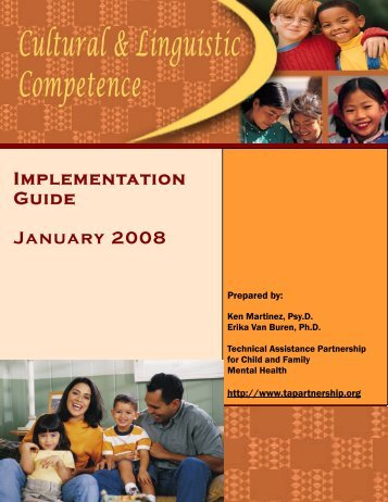 Implementation guide - Technical Assistance Partnership