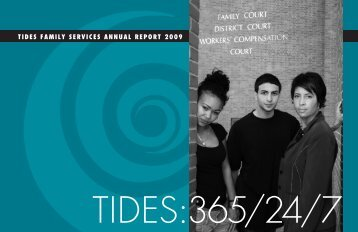 Tides Family Services Annual Report 2009 - Technical Assistance ...