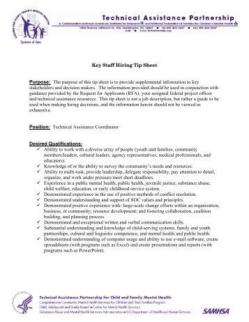 TA Coordinator(PDF) - Technical Assistance Partnership
