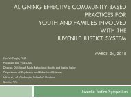 Evidence-Based Practices in the Community (PDF) - Technical ...