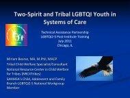 Two-Spirit YouthPDF - Technical Assistance Partnership