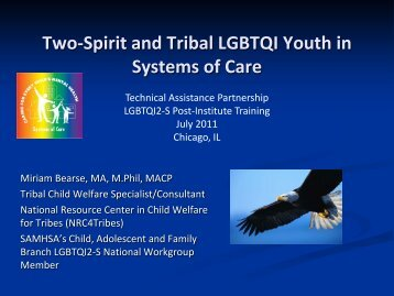 Two-Spirit YouthPDF - Technical Assistance Partnership