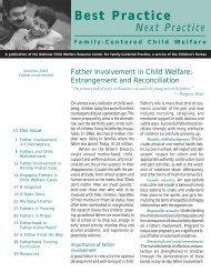 Father Involvement in Child Welfare - Hunter College