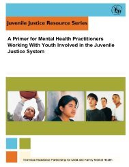 A Primer for Mental Health Practitioners Working with Youth Involved ...