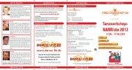 frühbucherrabatt bis 15.05.2012 - Tanzworkshop.de