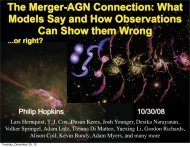The Merger-AGN Connection: What Models Say and How ... - Tapir