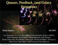 Quasars, Feedback, (and Galaxy Formation) - Tapir