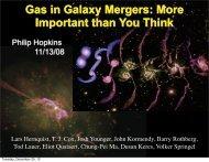 Gas in Galaxy Mergers - TAPIR Group at Caltech