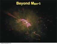 Beyond MBH-s - TAPIR Group at Caltech