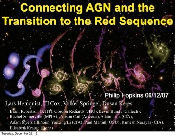 A Cosmic Cycle for the Origin of Quasars ... - Tapir - Caltech