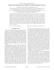 Improved time-domain accuracy standards for model gravitational ...