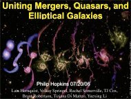 Uniting Mergers, Quasars, & Elliptical Galaxies - TAPIR Group at ...