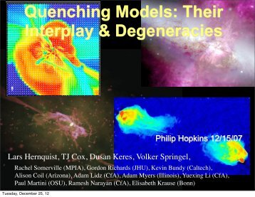 Quenching Models - TAPIR Group at Caltech