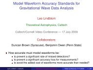 Model Waveform Accuracy Standards for Gravitational Wave Data ...