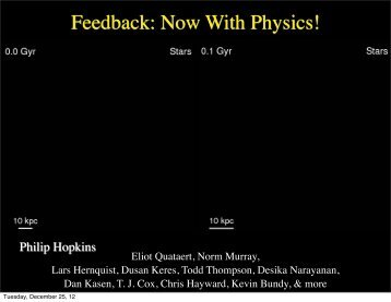 Feedback: Now With Physics! - Tapir