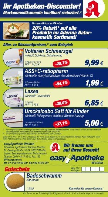 Ihr Apotheken-Discounter! - easy Apotheke