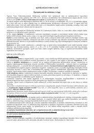 KITÖLTÉSI ÚTMUTATÓ Építményadó bevalláshoz (A lap ... - Tapolca
