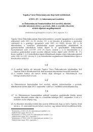 az Önkormányzat fenntartásában lévő nevelési, oktatási ... - Tapolca